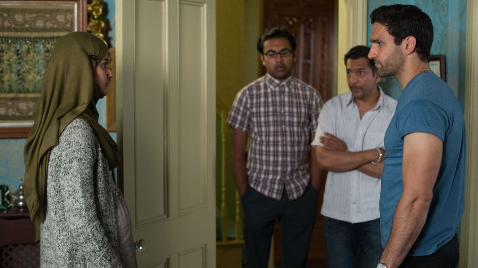 Eastenders 31/09 - The Masoods and Kazemis come to terms with the death of their baby
