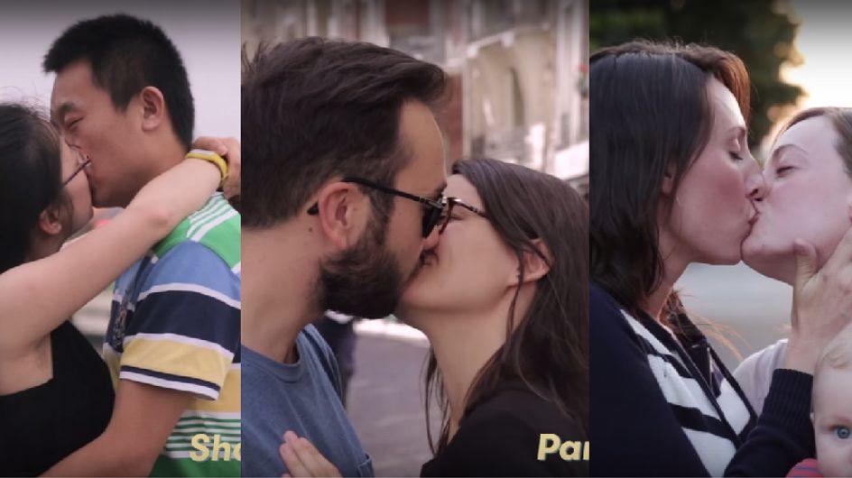 É assim que as pessoas se beijam em 11 países do mundo