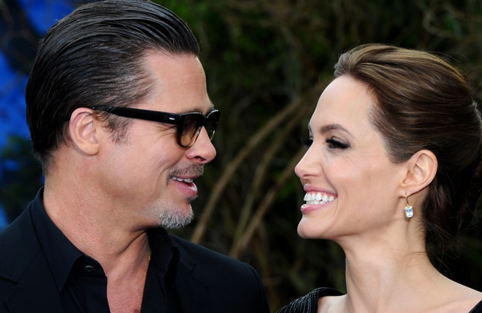 The Most Heart-Warming Moments Of Brangelina's Romance