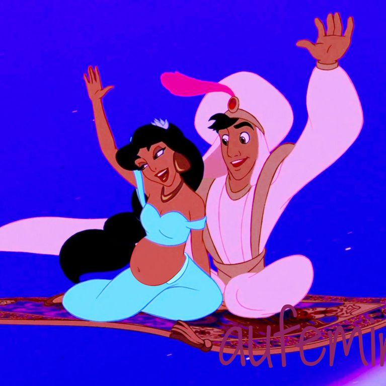 Les Princesses Disney Enceintes