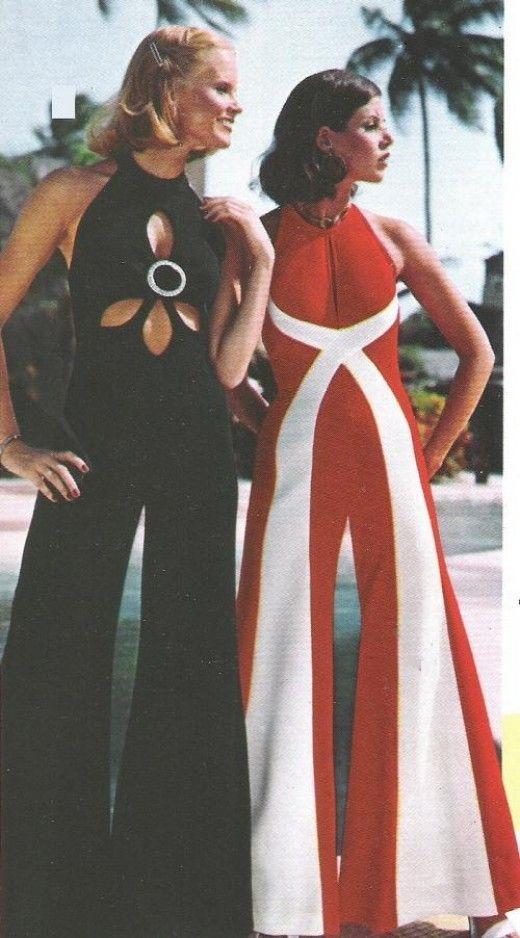 trend teil der 70er mode der jumpsuit