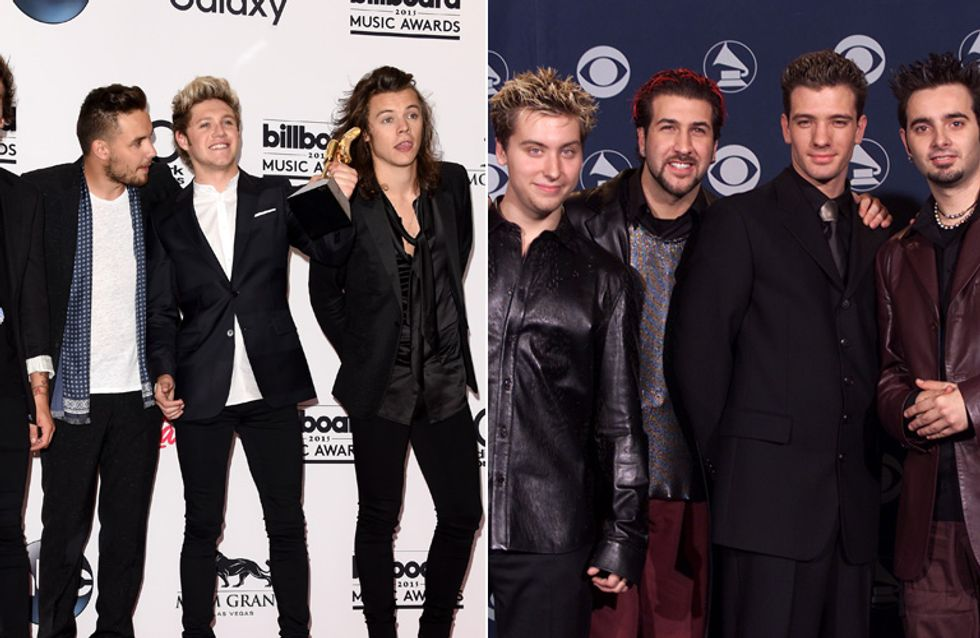 Everything Is About To Be Terrible. NSync's Joey Fatone Tells One Direction Their Future