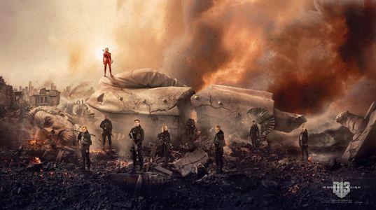 Katniss et les rebelles à l'assaut du Capitole