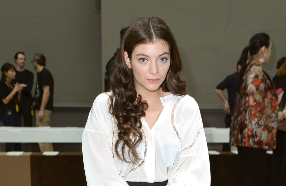 Lorde pose sans maquillage sur Instagram (Photo)