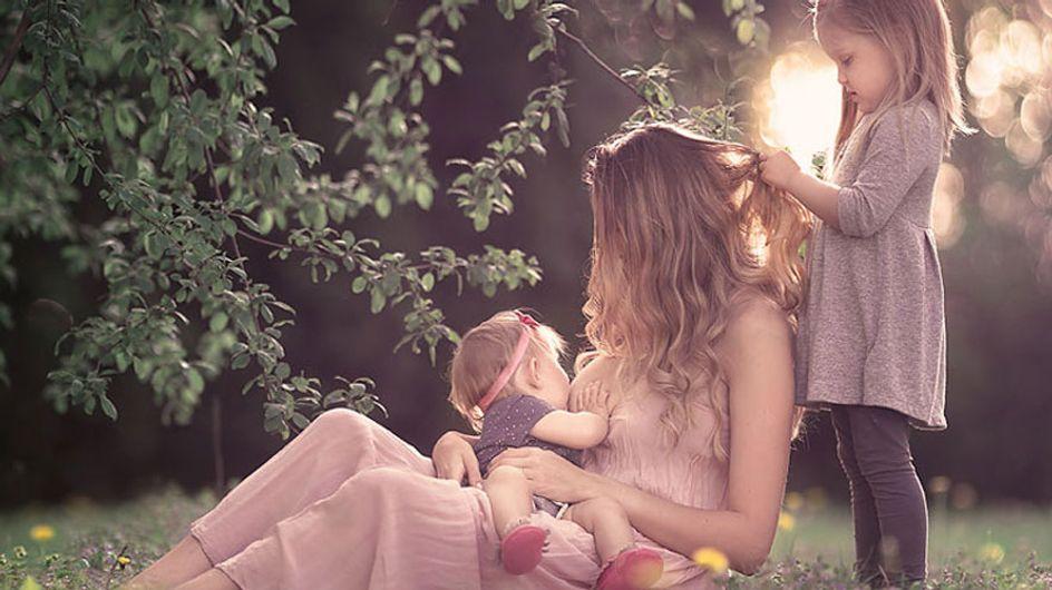 Las fotografías artísticas que reivindican la lactancia materna en público