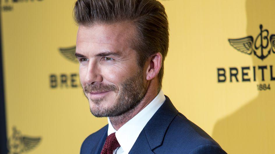 David Beckham fan de la Reine des Neiges pour sa fille Harper (Photo)