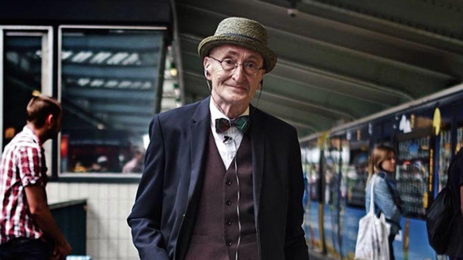 Conoce al abuelo más fashionista del mundo