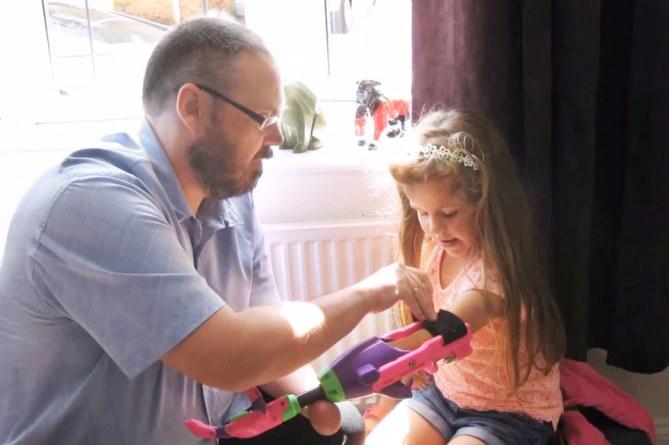 Stephen Davies und die kleine Isabella