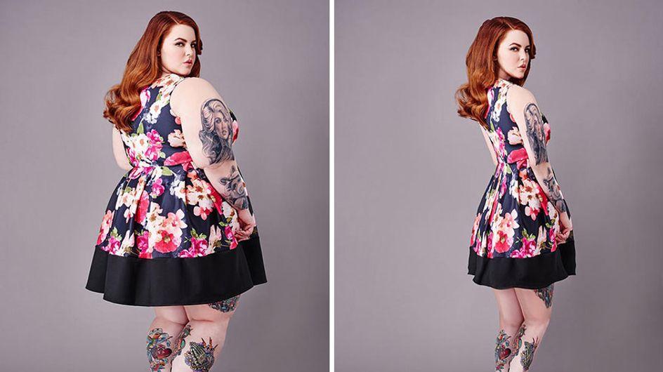 Retocan las fotos de mujeres para inspirarlas a perder peso
