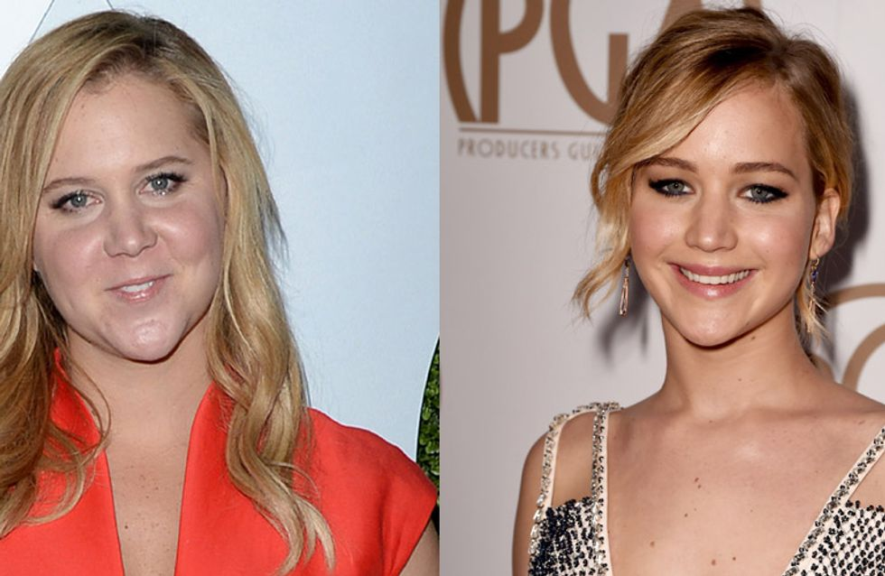 JLaw And Amy Schumer Are Working On A Film Together And It's Obviously The Best Thing That Has Happened To Humanity