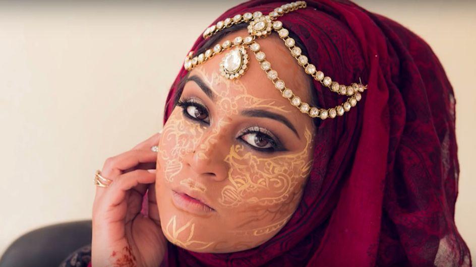 Henna contouring, el maquillaje no tiene fronteras