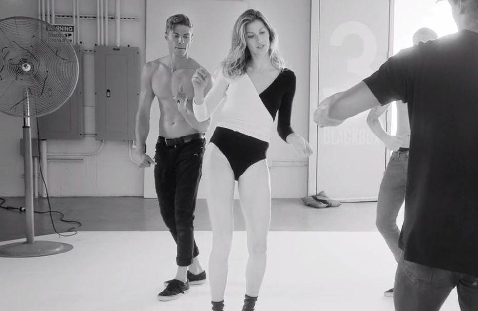 La danse de Gisele Bündchen pour Stuart Weitzman (Vidéo)