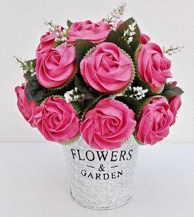 ¡El ramo más dulce! Aprende a preparar un bonito cupcake bouquet