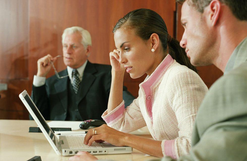 Pour les femmes, travailler avec trop d'hommes serait mauvais pour la santé