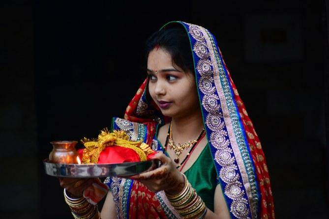 Une Indienne.