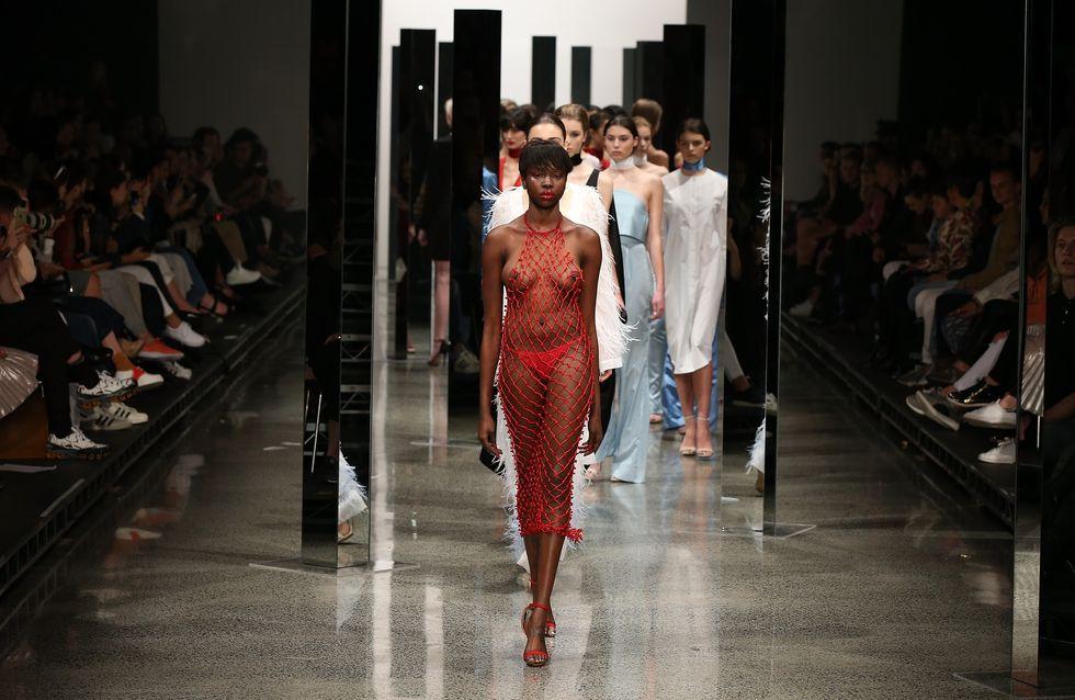 Fashion Week : Un défilé de lingerie spéciale incontinence (Photos)
