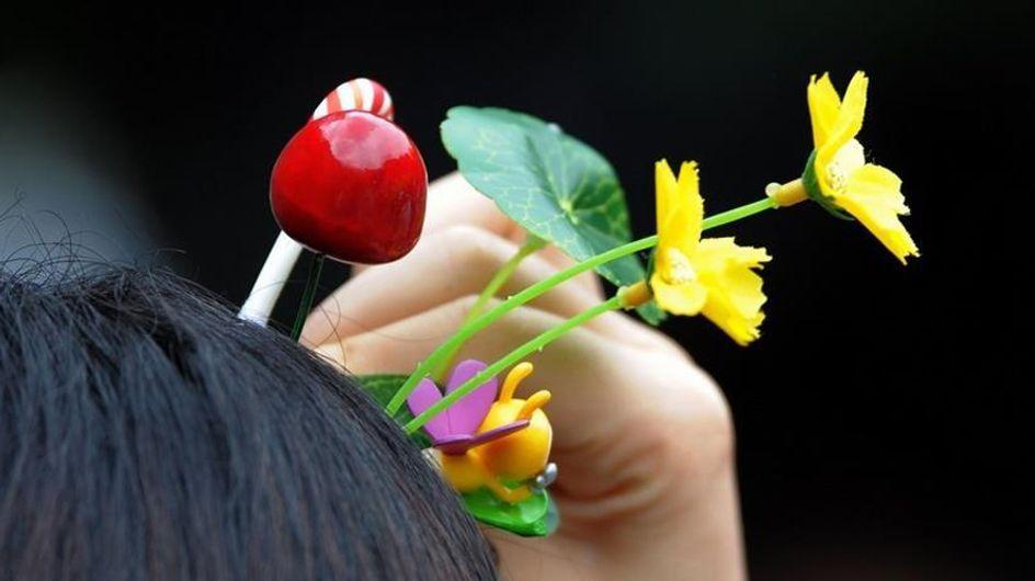Plantas en la cabeza, la nueva tendencia capilar que arrasa en China
