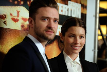 Justin Timberlake et Jessica Biel.