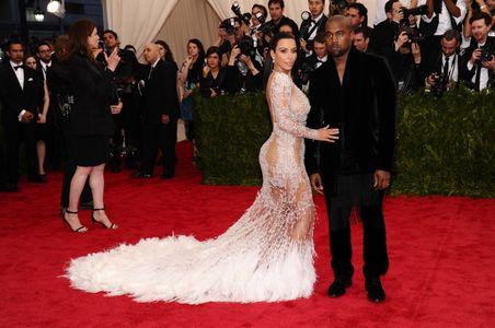 Keyne West y Kim Kardashian