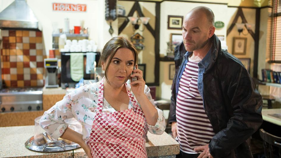 Coronation Street 9/08 - Tracy's lies finally catch up with her