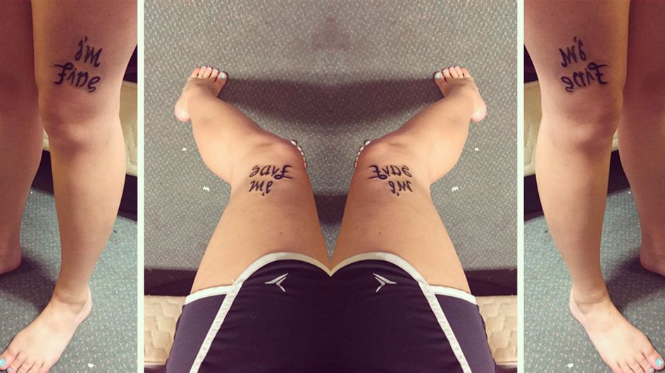 This Girl's Tattoo Makes A Powerful Point About Depression