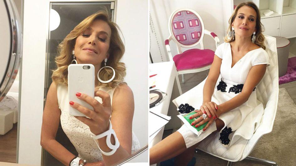 Barbara D'Urso cade dalle scale in diretta e rincuora i fan su Instagram!