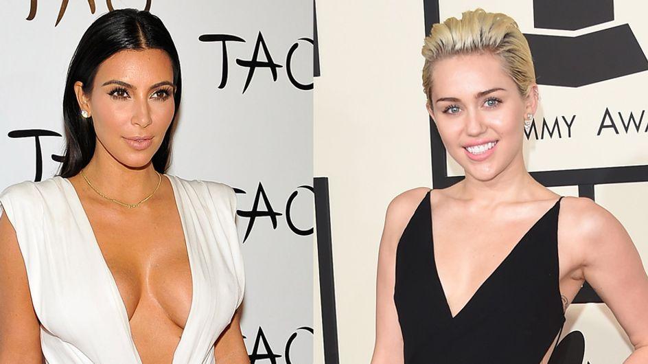 Kim Kardashian nue, Miley Cyrus topless, les selfies des stars pour Interview Magazine (Photos)