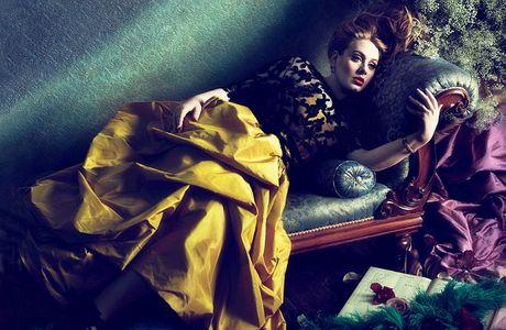 Adele para la edición de Vogue Estados Unidos