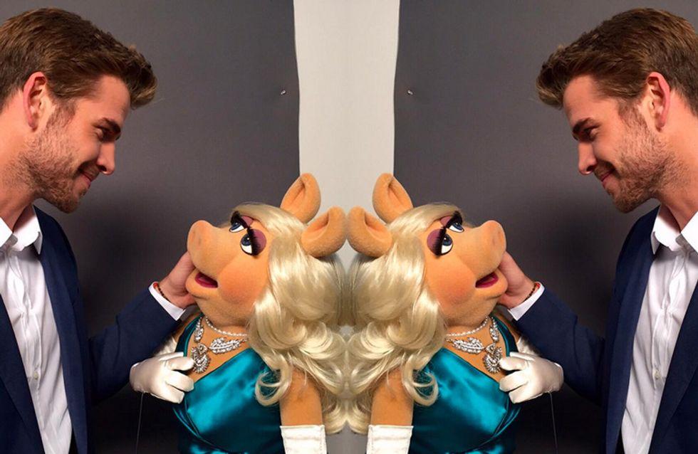 Miss Piggy está saindo com Liam Hemsworth