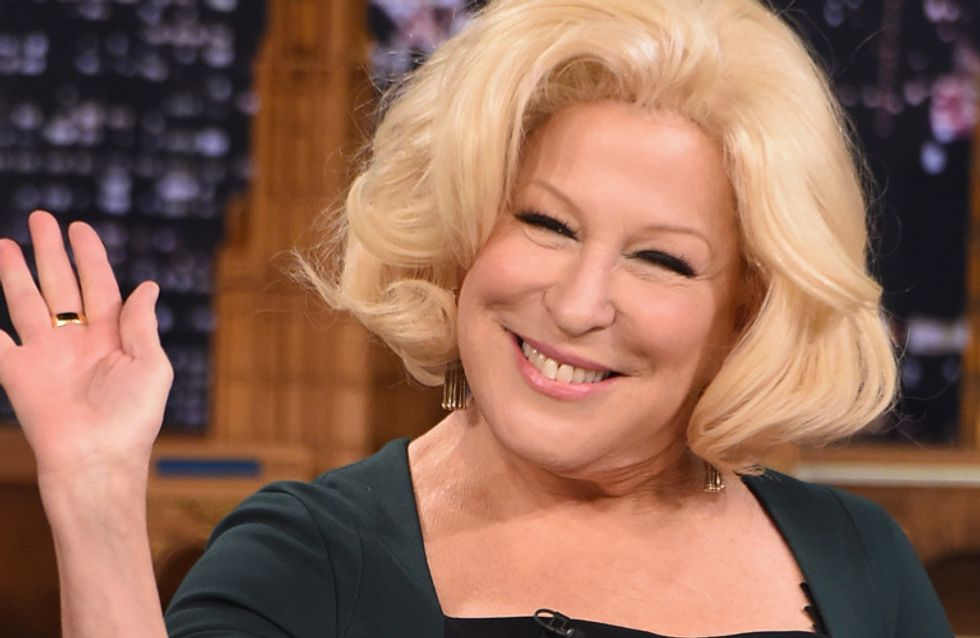 Bette Midler Wants To Star In Jennifer Lawrence And Amy Schumer's Movie And This Is What Dreams Are Made Of