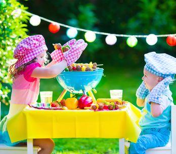 Cómo conseguir una dieta rica en fibra en los niños