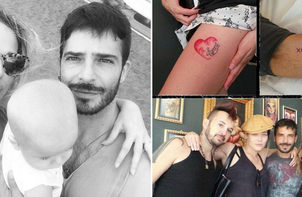 Tatuaggio di coppia in onore del figlio per Laura Chiatti e Marco Bocci. Guarda le immagini!