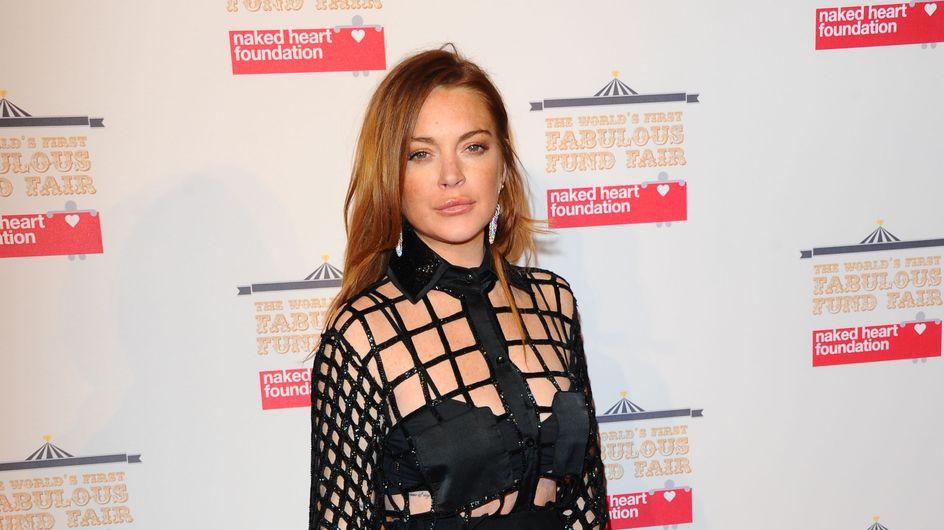 Lindsay Lohan sans maquillage se compare à la fillette qu'elle était (Photo)
