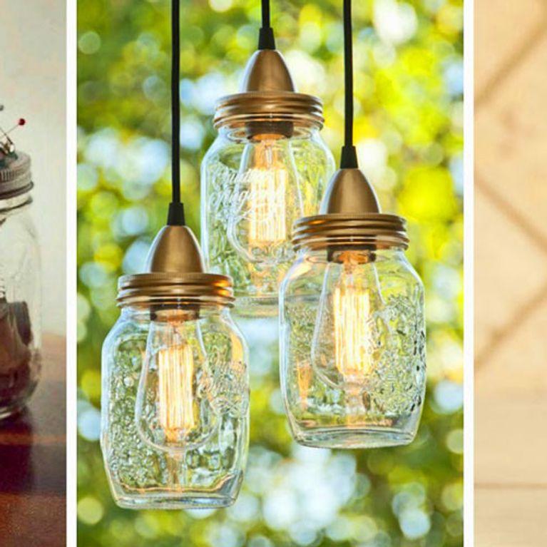 ideas para reciclar y decorar Ideas Creativas Para Reciclar Tarros De Cristal