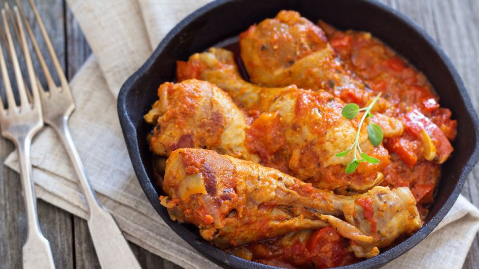 La recette toute simple du poulet basquaise et ses petits suppléments d'âme