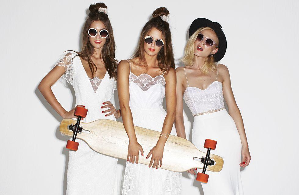Dites 'oui ' à la mariée glam rock 2016 de Rime Arodaky