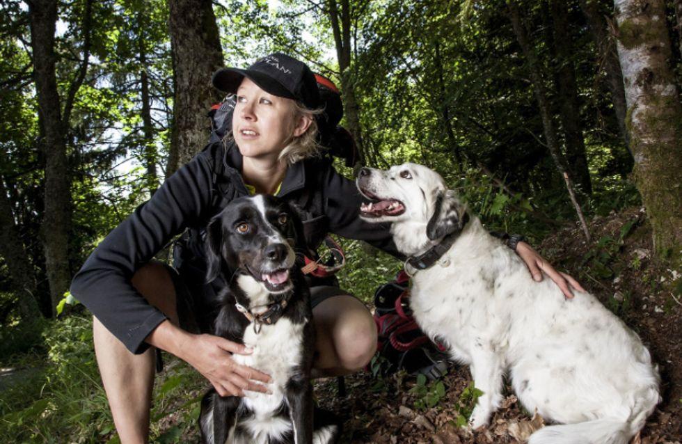 Une femme et ses chiens à l'assaut du Grand Nord
