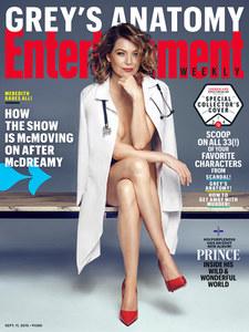 Ellen Pompeo nue pour Entertainment Weekly