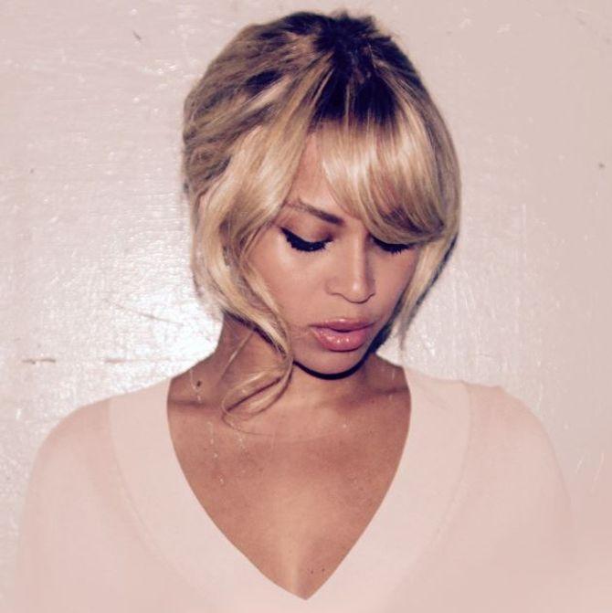 Beyoncé et sa nouvelle coiffure