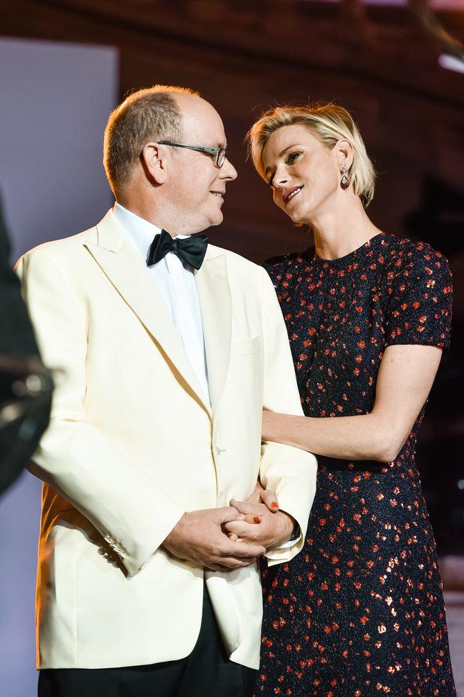 Albert et Charlène de Monaco aux Princess Grace Awards.