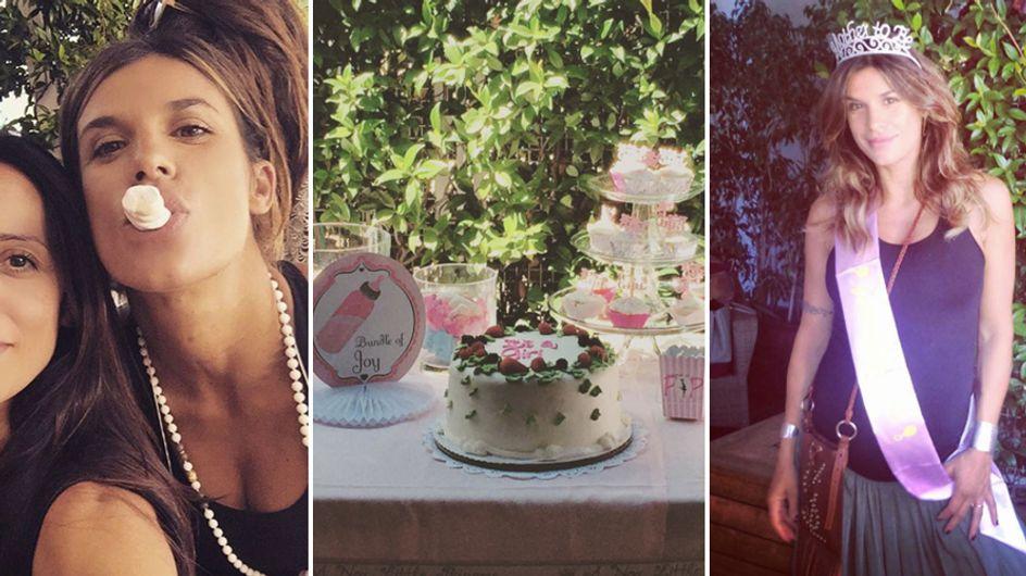 Elisabetta Canalis: baby shower con le amiche a pochi giorni dal parto. Le foto!