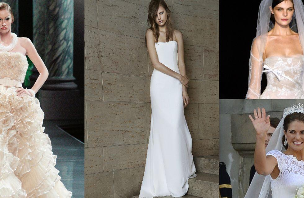 Nicht nur für Prinzessinnen: Welcher Star-Designer entwirft dein Brautkleid?