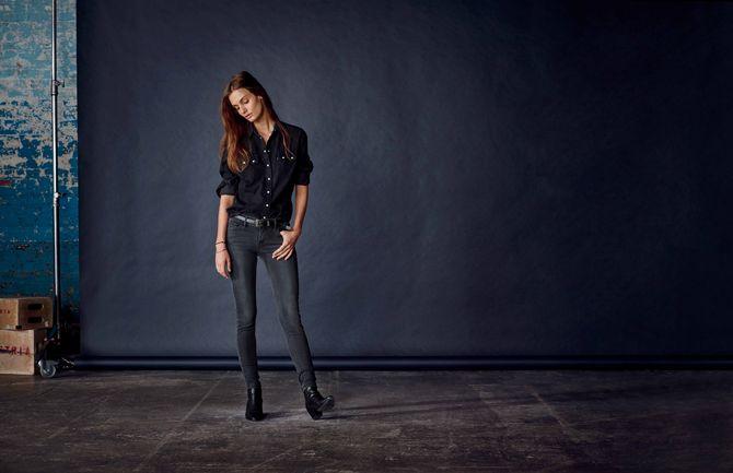 Le jean LEVI'S 710 super skinny