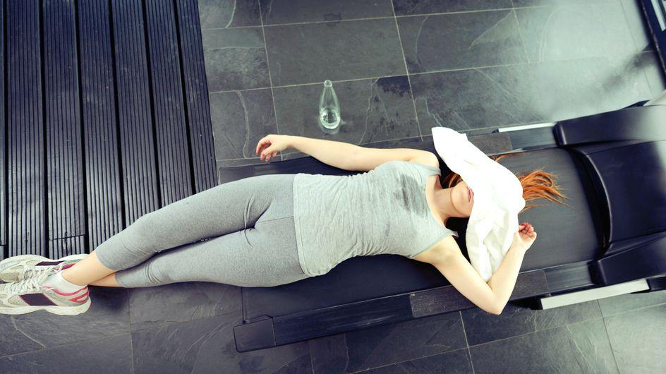 20 Gedanken, die Frauen beim Besuch im Fitnessstudio haben