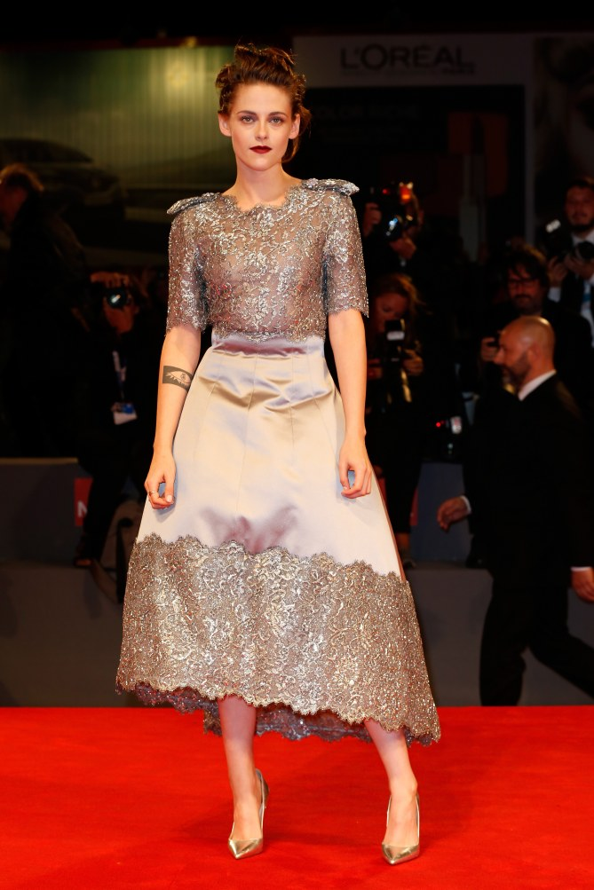 Kristen Stewart à la Mostra de Venise 2015