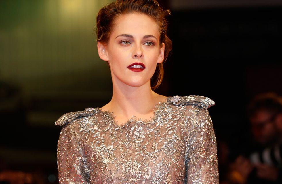 Kristen Stewart, vampire chic à Venise