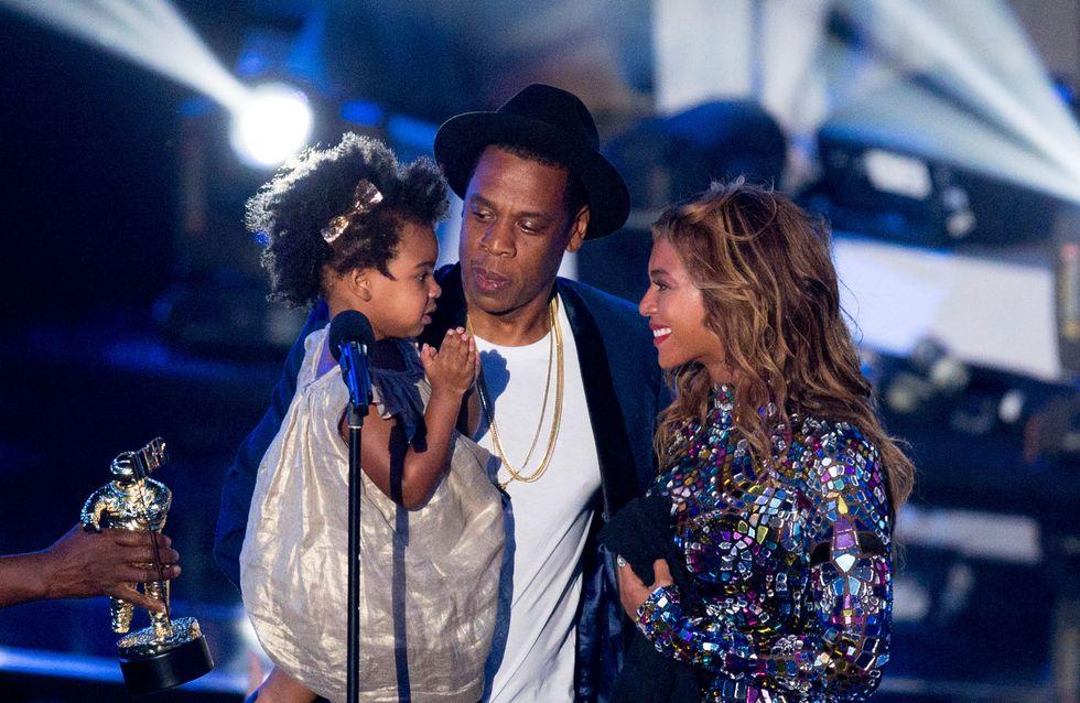 Blue Ivy s'invite aux répétitions de Beyoncé (Photos)