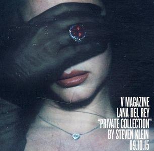 Lana Del Rey en couverture de V magazine
