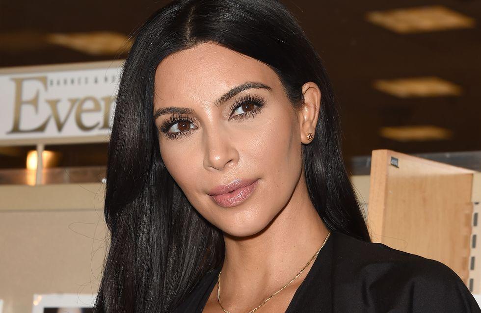 Kim Kardashian, une future maman stylée (Photos)
