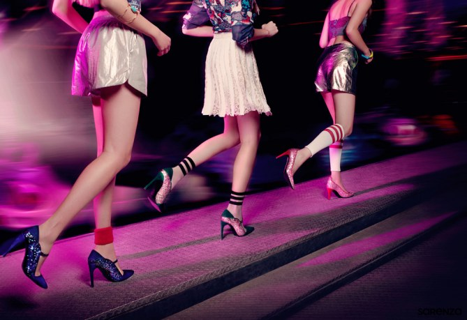 Qui veut participer à une course en escarpins entre nanas ?